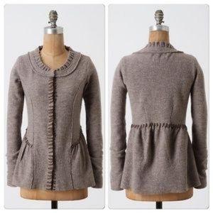 Anthropologie Guinevere wool jacket
